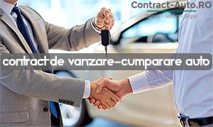 Contract de vanzare cumparare auto